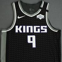 Cory Joseph - Sacramento Kings - Game-Worn Statement Edition Jersey - 2019-20 NBA Season Restart with Social Justice Message
