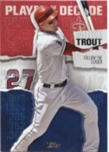 Photo of 2020 Topps Player of the Decade Mike Trout #MT8 Mike Trout