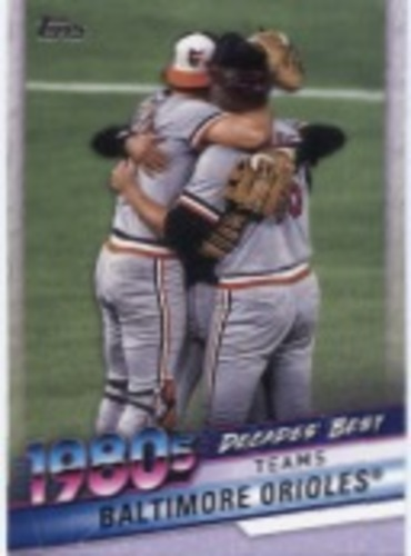 Photo of 2020 Topps Decades' Best Series 2 #DB60 Baltimore Orioles