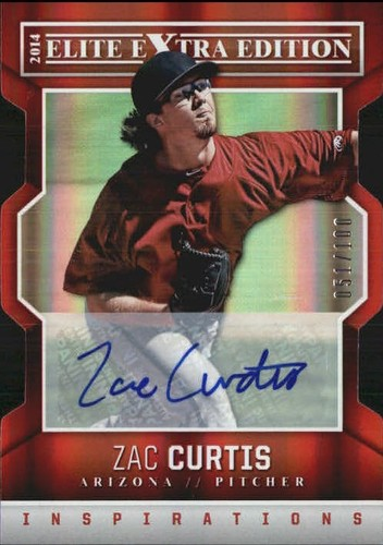 Photo of 2014 Elite Extra Edition Signature Inspirations #79 Zac Curtis