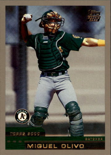 Photo of 2000 Topps Traded #T37 Miguel Olivo RC