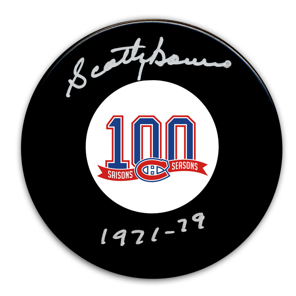 Scotty Bowman Montreal Canadiens 100th Anniversary Autographed Puck