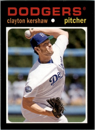 Photo of 2013 Topps Update 1971 Topps Minis #15 Clayton Kershaw -- Dodgers post-season