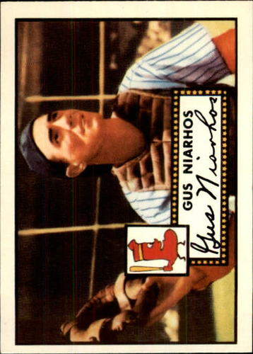 Photo of 1983 Topps 1952 Reprint #121 Gus Niarhos