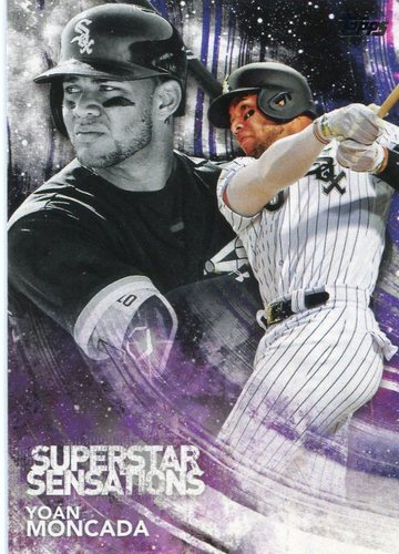 Photo of 2018 Topps Superstar Sensations #SSS16 Yoan Moncada