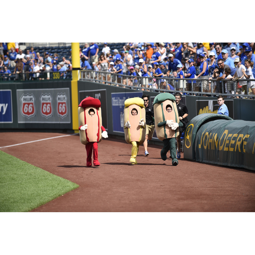 Photo of Kauffman Stadium Hot Dog Derby Costume: Children's Mustard