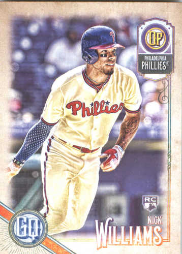 Photo of 2018 Topps Gypsy Queen #196 Nick Williams RC
