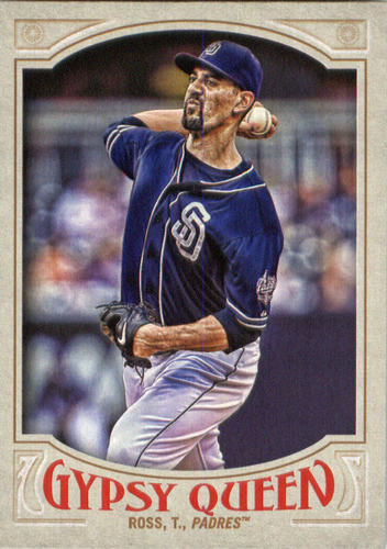 Photo of 2016 Topps Gypsy Queen #109 Tyson Ross