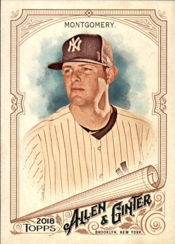 Photo of 2018 Topps Allen and Ginter #23 Jordan Montgomery