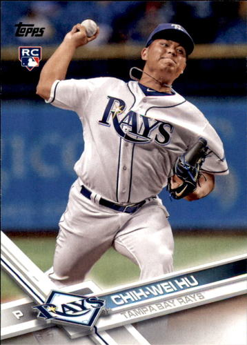 Photo of 2017 Topps Update #US198 Chih-Wei Hu RC