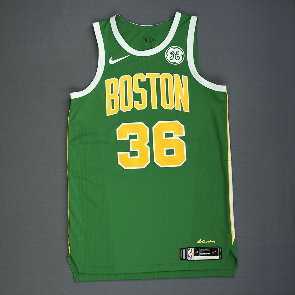 the latest f6098 4b1e9 Marcus Smart - Boston Celtics - Christmas Day' 18 - Game ...