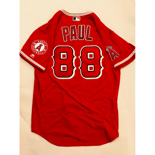 Photo of 2019 Mexico Series - Game-Used Jersey - Josh Paul, Houston Astros at Los Angeles Angels - 5/4/19