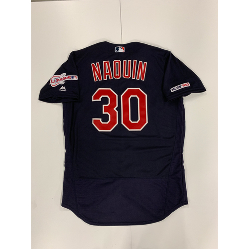 Tyler Naquin 2019 Team Issued Alternate Road Jersey