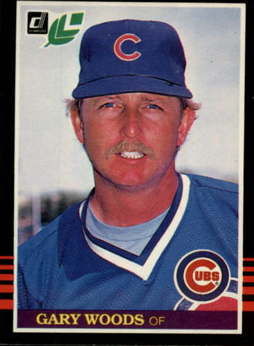 Photo of 1985 Leaf/Donruss #49 Gary Woods