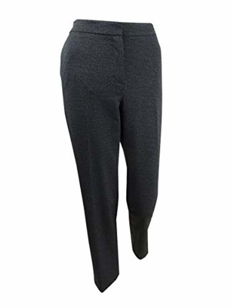 Photo of Kasper Women's Twill Ponte Elastic Back Pant
