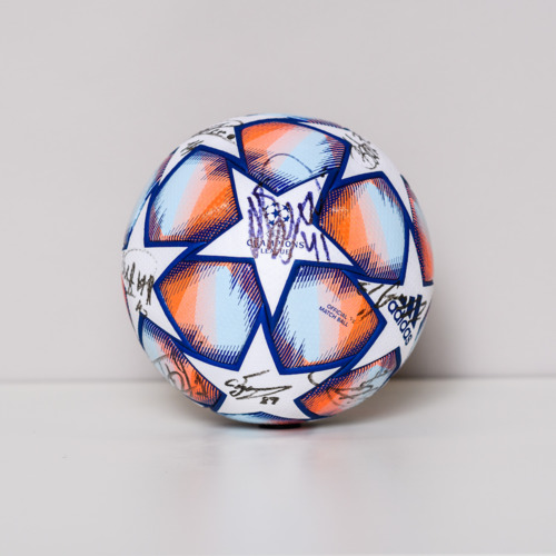 Photo of 20/21 Champions League Ball signed by the FC Dynamo Kyiv Team