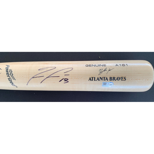 Photo of Ronald Acuna Jr. MLB Authenticated Autographed Bat
