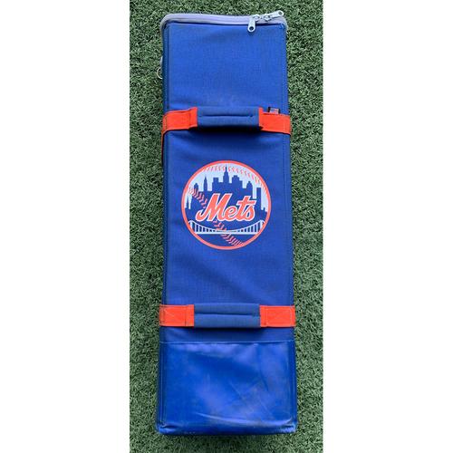 Photo of Tomas Nido #3 - Game Used Bat Bag - Mets vs. Braves - 9/29/19