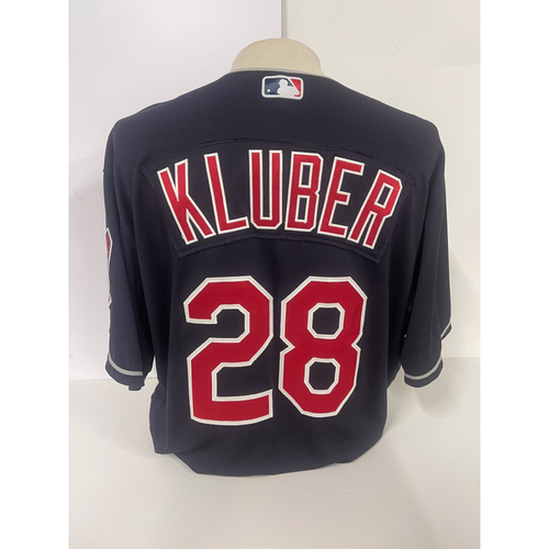 Photo of Team Issued Jersey- Corey Kluber #28