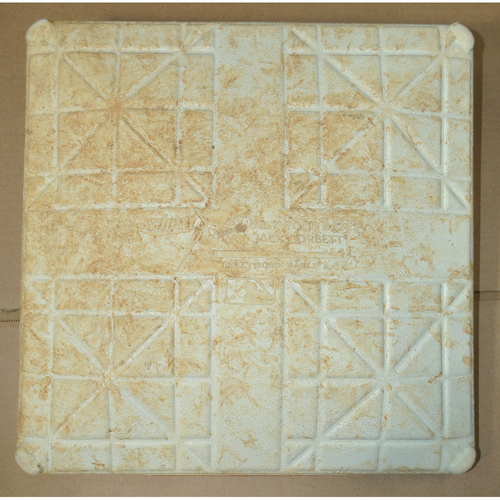 Game-Used Base - 2010 ALCS Games 3, 4, 5 - Texas Rangers vs. New York Yankees - 1st Base Innings 5-7 For All Three Games