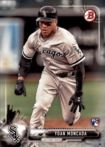 Photo of 2017 Bowman #25 Yoan Moncada Rookie Card