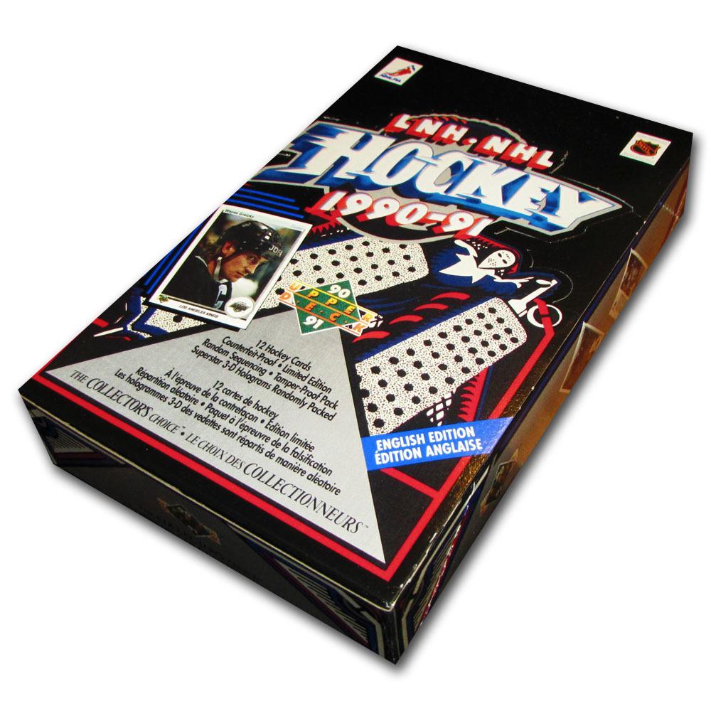 1990-91 Upper Deck Hockey Card Box