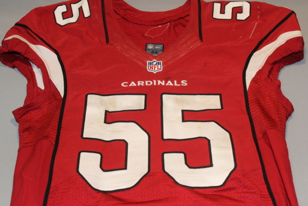 the best attitude 7bbf1 6336f NFL Auction | STS - CARDINALS CHANDLER JONES GAME WORN ...