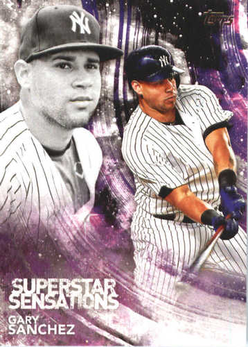 Photo of 2018 Topps Superstar Sensations #SSS22 Gary Sanchez