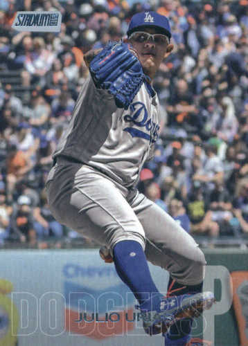Photo of 2018 Stadium Club #231 Julio Urias