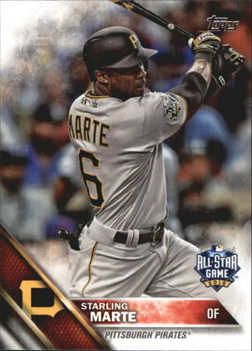 Photo of 2016 Topps Update #US166 Starling Marte AS