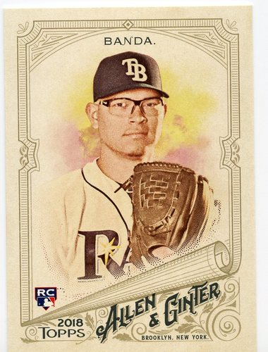 Photo of 2018 Topps Allen and Ginter #69 Anthony Banda RC