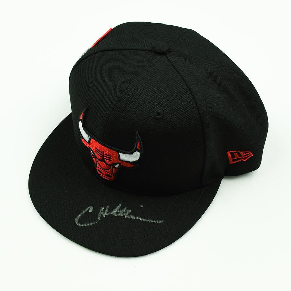 Chandler Hutchison - Chicago Bulls - 2018 NBA Draft Class - Autographed Hat