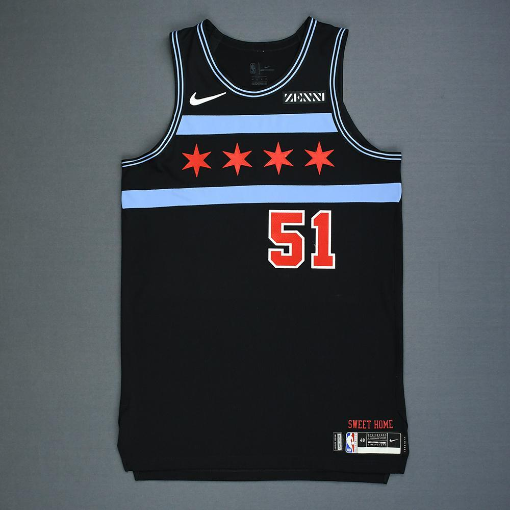 Ryan Arcidiacono - Chicago Bulls - Game-Worn City Edition Jersey - 2018-19 Season