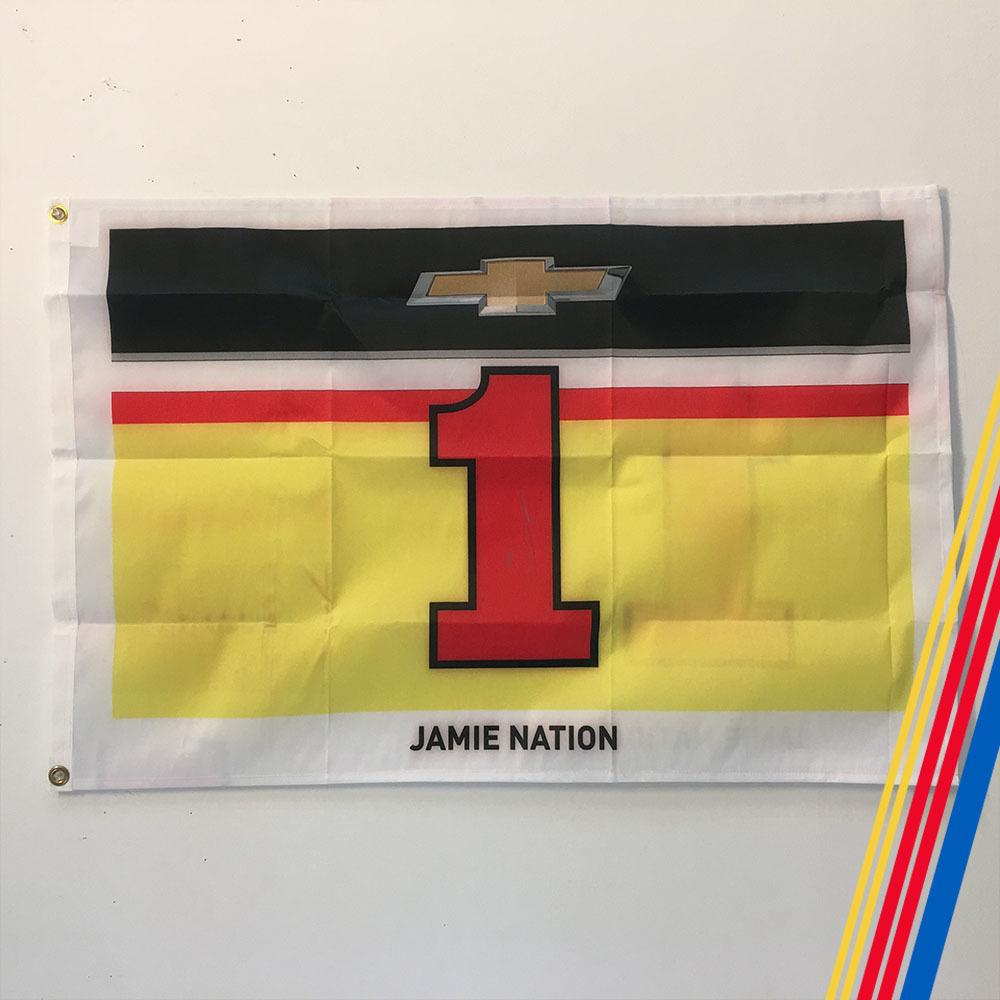NASCAR's Jamie McMurray Autographed Flag!