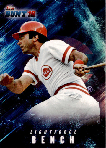 Photo of 2016 Topps Bunt Light Force #LF3 Johnny Bench