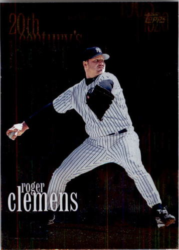 Photo of 2000 Topps #235 Roger Clemens 20CB