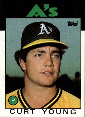 Photo of 1986 Topps #84 Curt Young