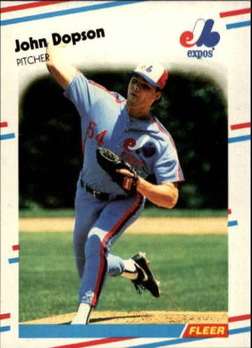 Photo of 1988 Fleer Update #99 John Dopson