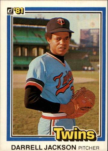Photo of 1981 Donruss #547 Darrell Jackson