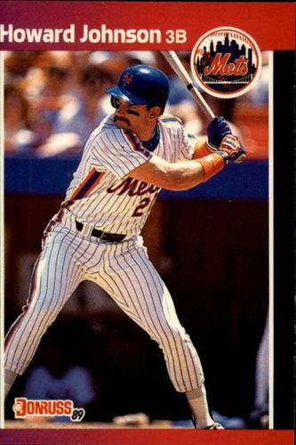 Photo of 1989 Donruss #235 Howard Johnson