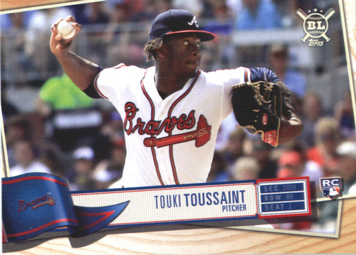 Photo of 2019 Topps Big League #67 Touki Toussaint RC