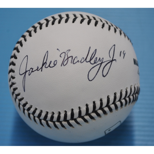 MLB Opening Day Auction Supporting The Players Alliance - Autographed Black Lives Matters Baseball - Jackie Bradley JR. #19
