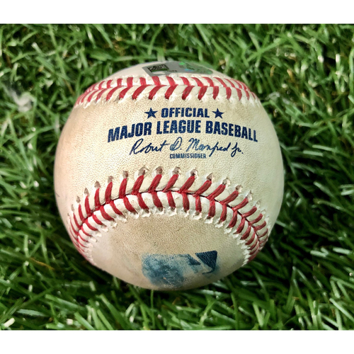 Photo of Game Used Baseball: Randal Grichuk single off Trevor Richards - July 26, 2020 v TOR