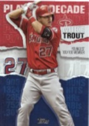 Photo of 2020 Topps Player of the Decade Mike Trout #MT16 Mike Trout
