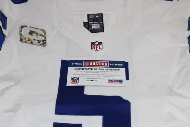 meet fdce9 651cc NFL Auction | COWBOYS DAN BAILEY GAME USED COWBOYS JERSEY 11 ...