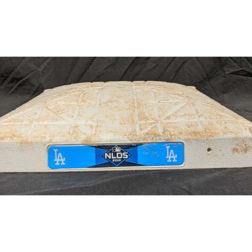 Photo of Game-Used 2nd Base 2019 National League Division Series Game 2 October 4th 2019