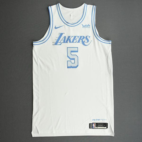 Image of Talen Horton-Tucker - Los Angeles Lakers - Christmas Day' 20 - Game-Worn City Edition Jersey
