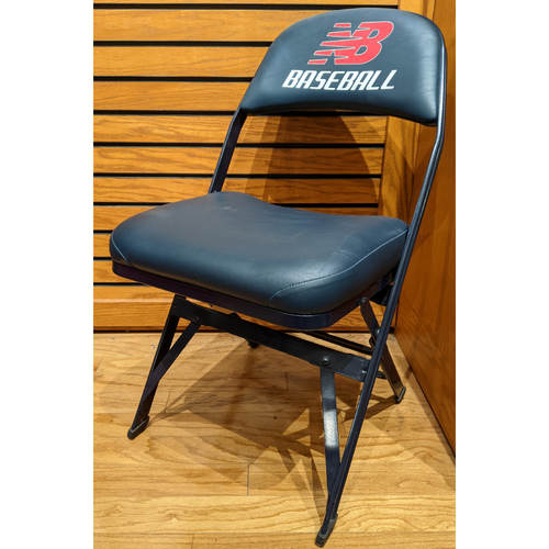 Photo of Fenway Park Visitor's Clubhouse Derek Jeter Game Used Locker Room Chair