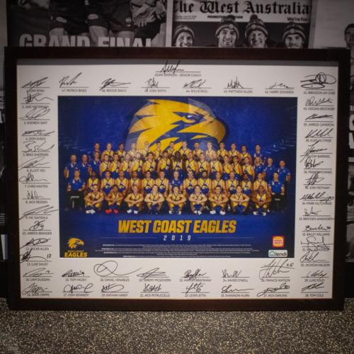 Photo of 2019 Team Photo - Signed Matt board