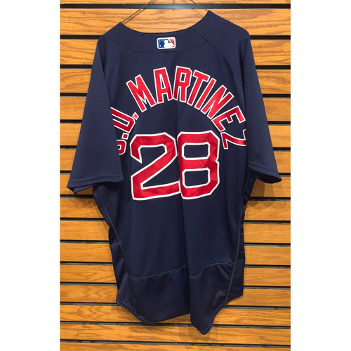 Photo of JD Martinez May 8, 2021 Game Used Road Alternate Jersey - 1 for 4, 2 Rs